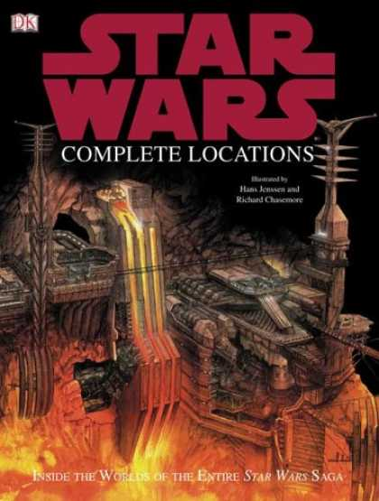 Star Wars Books - The Complete Locations of Star Wars: Inside the Worlds of the Entire Star Wars S