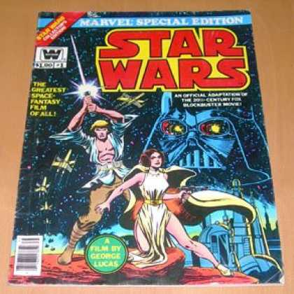 Star Wars Books - Star Wars - Marvel Special Edition #1, 1977