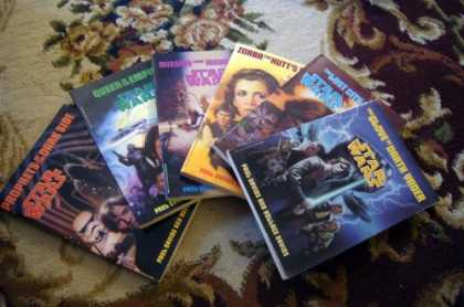 Star Wars Books - Star Wars Complete Set Series 1 - 6 the Glove of Darth Vader ; the Lost City of