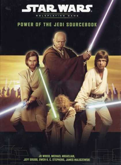 Star Wars Books - Power of the Jedi Sourcebook (Star Wars Roleplaying Game)