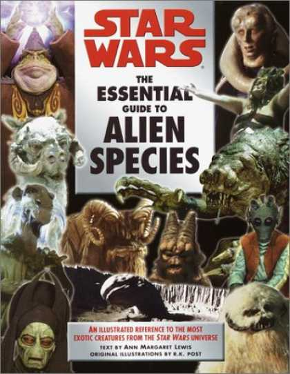 Star Wars Books - The Essential Guide to Alien Species (Star Wars)
