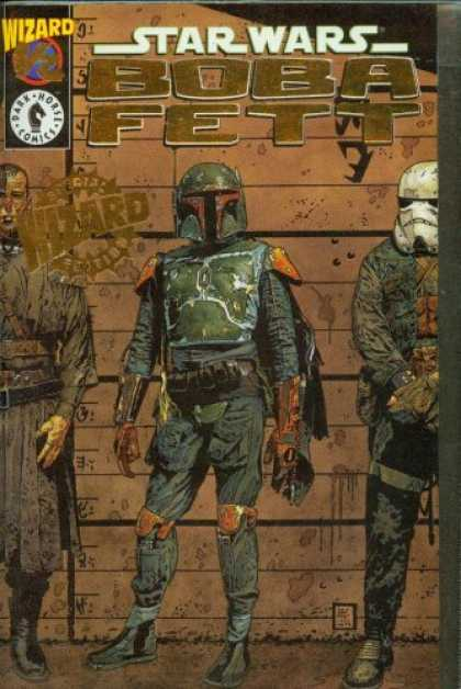 Star Wars Books - Star Wars Boba Fett 1/2 Gold Edition w/ Certificate of Authenticity