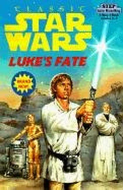 Star Wars Books - Star Wars Luke's Fate (Step into Reading, Step 3, paper)