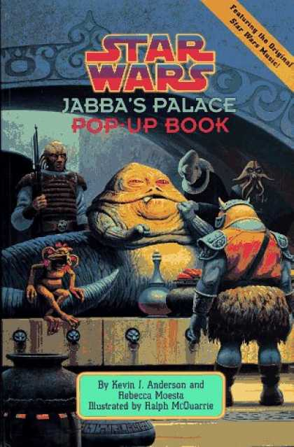 Star Wars Books - Star Wars: Jabba's Palace Pop-Up Book (Star Wars (Econo-Clad Hardcover))