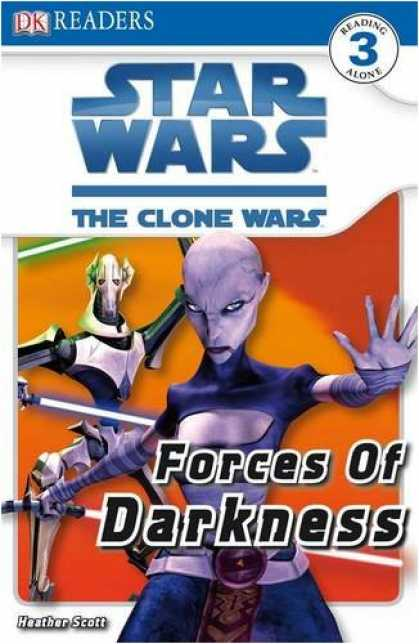 Star Wars Books - Star Wars Clone Wars Forces of Darkness (DK Readers Level 3)