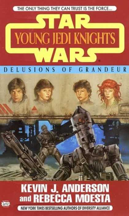 Star Wars Books - Delusions of Grandeur (Star Wars: Young Jedi Knights, Book 9)