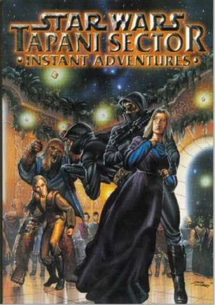 Star Wars Books - Tapani Sector: Instant Adventures (Star Wars RPG)