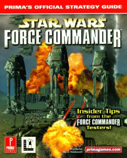 Star Wars Books - Star Wars: Force Commander (Prima's Official Strategy Guide)