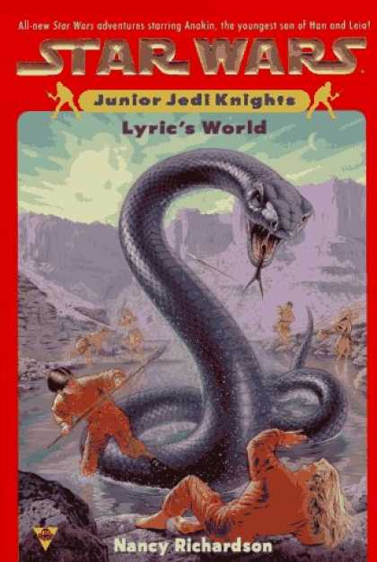 Star Wars Books - Star wars: junior jedi knights #2: lyric's world (Star Wars: Junior Jedi Knights