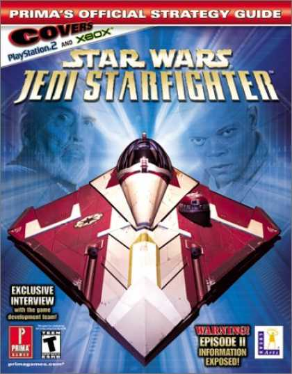 Star Wars Books - Star Wars Jedi Starfighter (Xbox) (Prima's Official Strategy Guide)