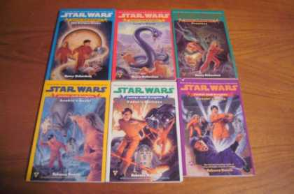 Star Wars Books - Star Wars Junior Jedi Knights Complete Set 1-6 Pb Golden Globe, Lyric's World, P