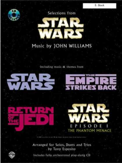 Star Wars Books - Star Wars / Solos, Duets, & Trios / Eb Book""