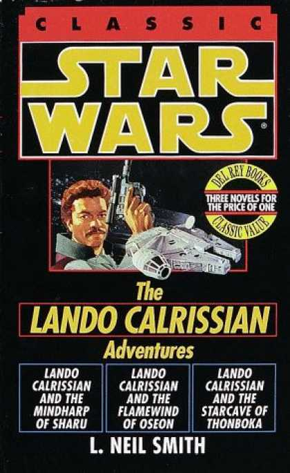 Star Wars Books - Star Wars: The Lando Calrissian Adventures