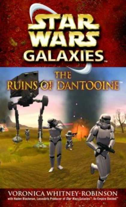 Star Wars Books - Star Wars Galaxies: The Ruins of Dantooine