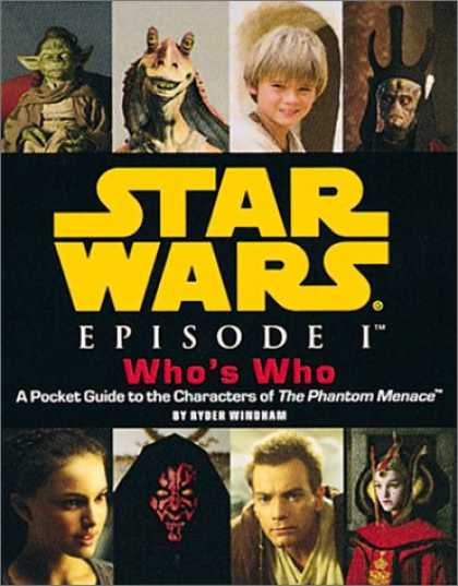 Star Wars Books - Star Wars, Episode I Who's Who: A Pocket Guide to the Characters of The Phantom