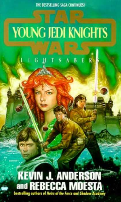 Star Wars Books - Lightsabers (Star Wars: Young Jedi Knights, Book 4)