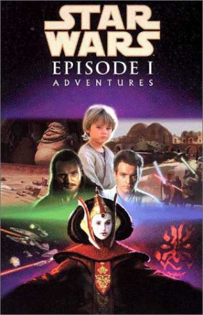 Star Wars Books - Star Wars Episode 1: Adventures