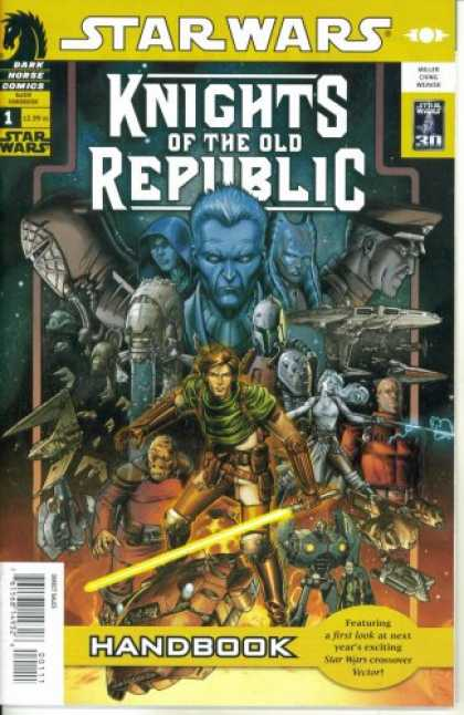 Star Wars Books - Star Wars Knights of the Old Republic Handbook #1 (Dark Horse Comics)