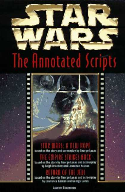 Star Wars Books - Star Wars: The Annotated Screenplays