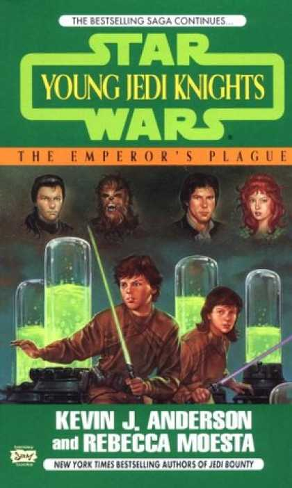 Star Wars Books - The Emperor's Plague (Star Wars: Young Jedi Knights, Book 11)