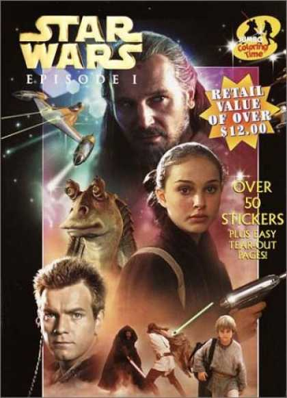Star Wars Books - Star Wars Episode 1: Jumbo Coloring Fun