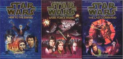 Star Wars Books - Star Wars ~ The Thrawn Trilogy: (Vol. 1) Heir to the Empire ; (Vol. 2) Dark Forc