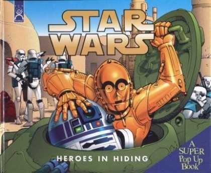 Star Wars Books - Star Wars Heroes in Hiding: A Super Pop Up Book (Star wars)