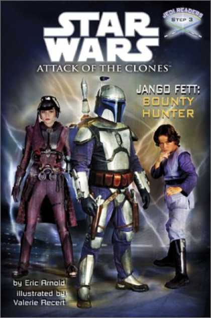Star Wars Books - Jango Fett: Bounty Hunter (Star Wars: Jedi Readers--Step into Reading, Step 3 Bo