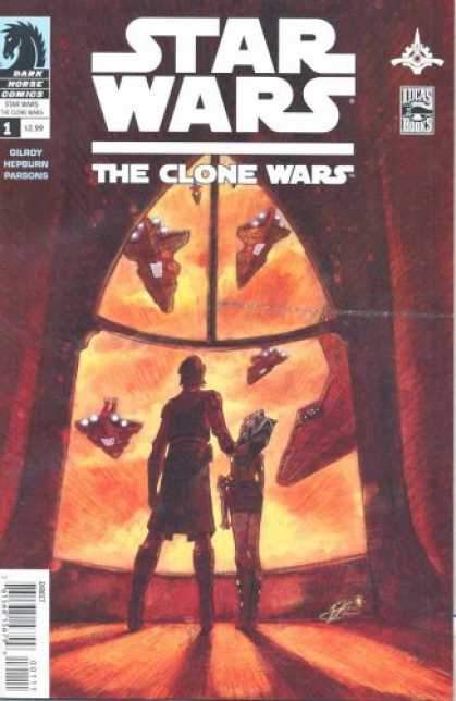 Star Wars Books - Star Wars Clone Wars #1 (Of 6)