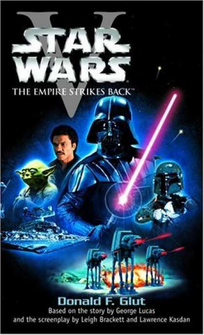 Star Wars Books - Star Wars, Episode V - The Empire Strikes Back