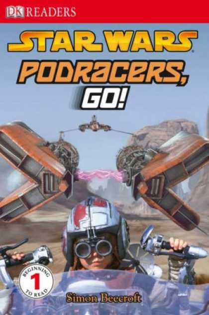 "Star Wars Books - "" Star Wars "" Podracers Go! (DK Readers Level 1)"