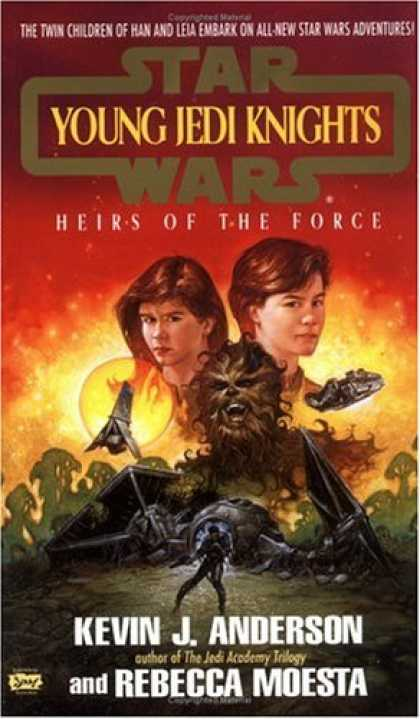 Star Wars Books - Heirs of the Force (Star Wars: Young Jedi Knights, Book 1)