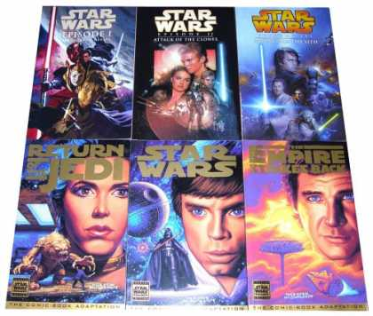 Star Wars Books - The Complete Star Wars Movie Saga, Episodes I-VI (Amazon.com Exclusive)