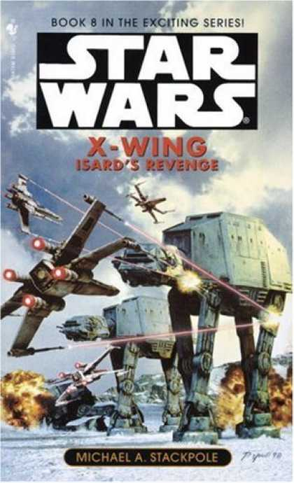Star Wars Books - Isard's Revenge (Star Wars: X-Wing Series, Book 8)