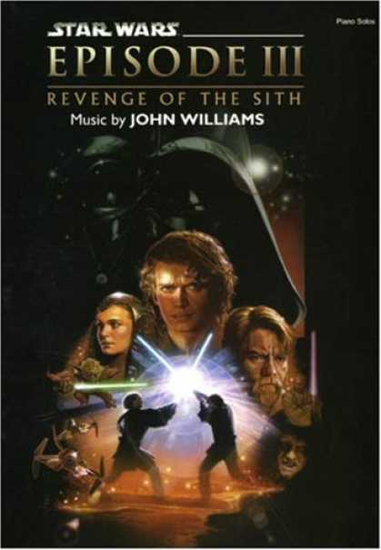 Star Wars Books - Star Wars Episode III: Revenge of the Sith (Piano Solos)