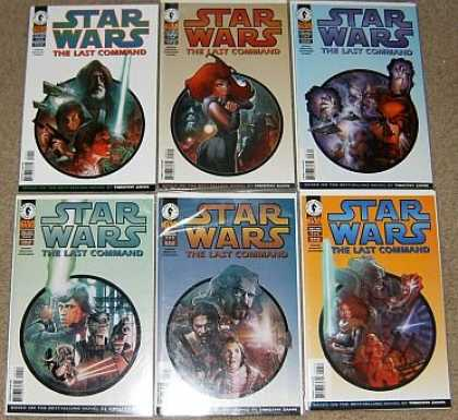 Star Wars Books - Star Wars The Last Command # 1, 2, 3, 4, 5 and 6. (The Complete Six Part Limited