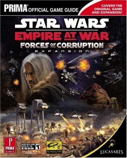 Star Wars Books - Star Wars Empire at War: Forces of Corruption (Prima Official Game Guide)
