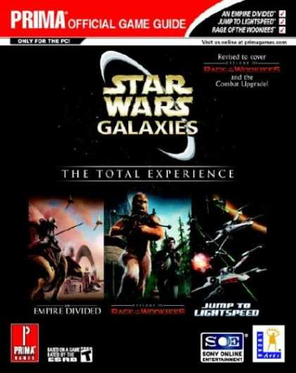 Star Wars Books - Star Wars Galaxies, The Total Experience, Prima Official Game Guide