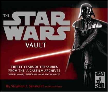 "Star Wars Books - The "" Star Wars "" Vault: Thirty Years of Treasures from the Lucasfilm Archives"