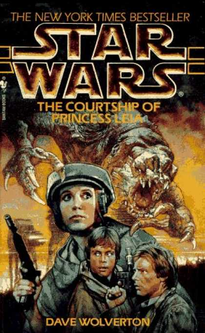 Star Wars Books - The Courtship of Princess Leia (Star Wars)