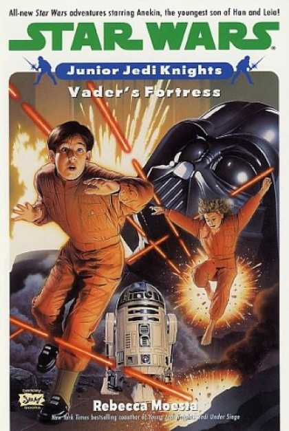 Star Wars Books - Vader's Fortress (Star Wars: Junior Jedi Knights, Book 5)