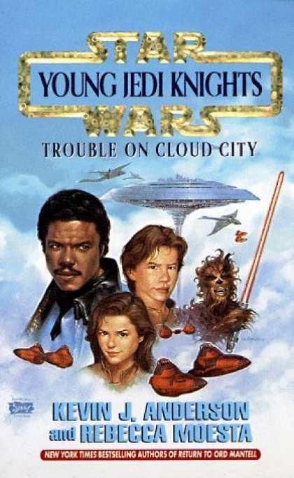 Star Wars Books - Trouble on Cloud City (Star Wars: Young Jedi Knights, Book 13)
