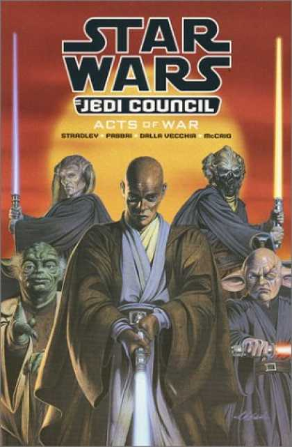 Star Wars Books - Star Wars - Jedi Council: Acts of War