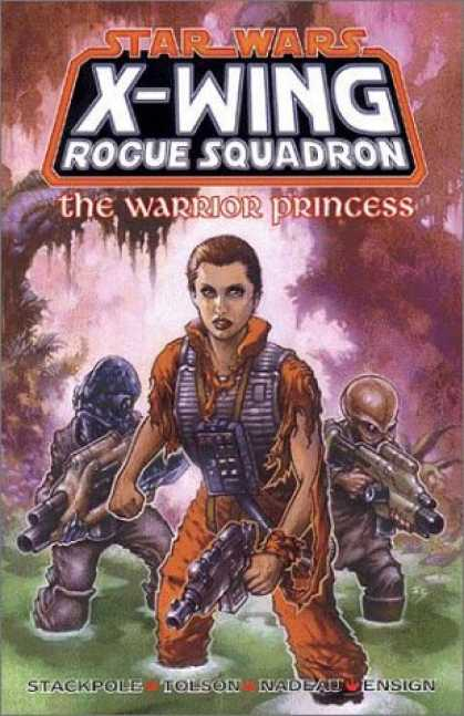 Star Wars Books - The Warrior Princess (Star Wars: X-Wing Rogue Squadron, Volume 4)