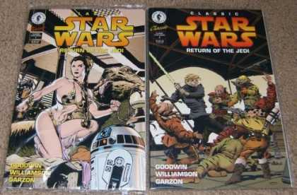 Star Wars Books - Classic Star Wars Return of the Jedi # 1 and 2. (The Complete Two Part Limited S
