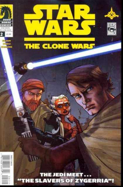 Star Wars Books - Star Wars Clone Wars #2 Of(6) Comic Book