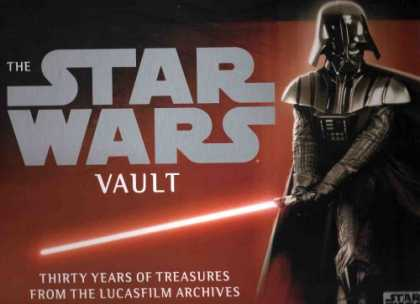 Star Wars Books - Star Wars Vault (Thirty Years of Treasures From the Lucasfilm Archives, Suggeste