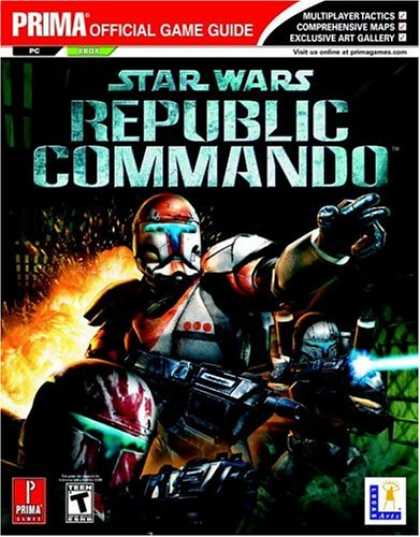 Star Wars Books - Star Wars Republic Commando (Prima Official Game Guide)
