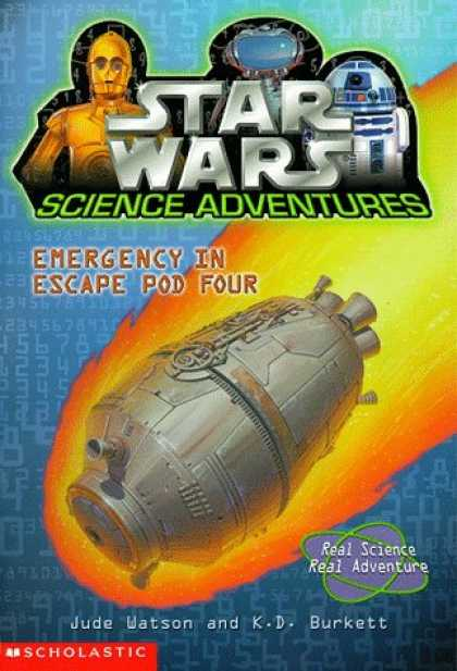 Star Wars Books - Emergency in Escape Pod Four (Star Wars Science Adventures)