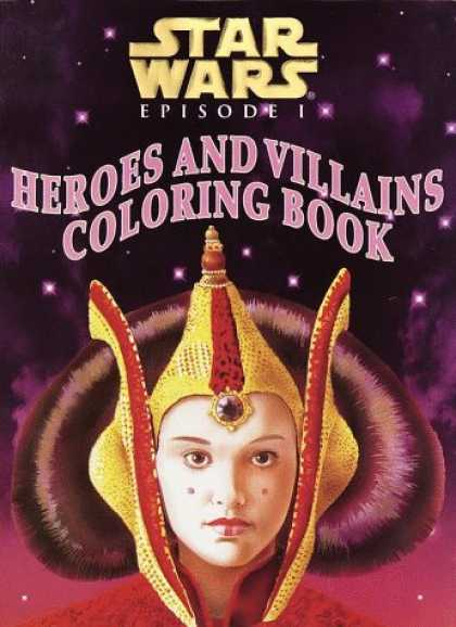 Star Wars Books - Heroes and Villains Coloring Book (Star Wars Episode I)